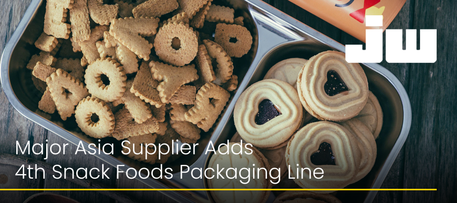 Major Asia Supplier Adds 4th Snack Foods Packaging Line