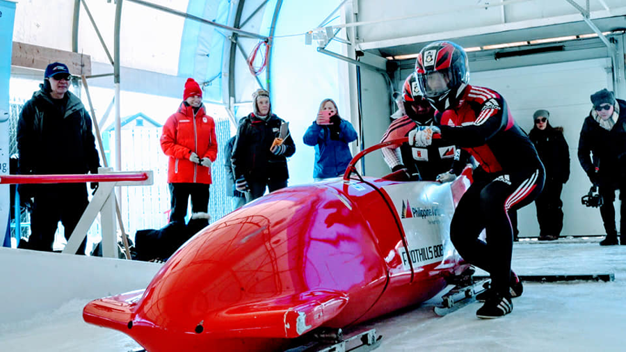 Jacob White Packaging Sponsors Philippine Bobsled Team