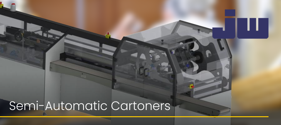 Semi-Automatic Cartoners Jacob White Packaging