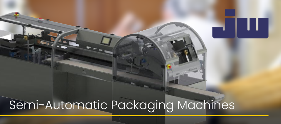 Semi-Automatic Packaging Machines Jacob White Packaging